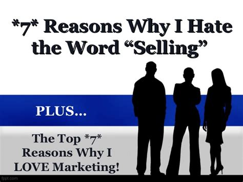7 Reasons Why I Bullock by The Top 7 Reasons Why I The Word Selling Plus The