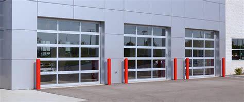 Glass Garage Doors Commercial Glass Garage Doors George S Garage Doors
