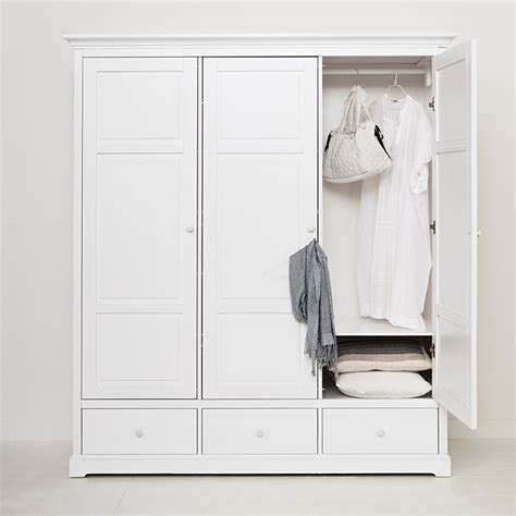 Kleiderschrank 2 20 Hoch by Oliver Furniture 3 T 252 Riger Kleiderschrank Wei 223 Hoch