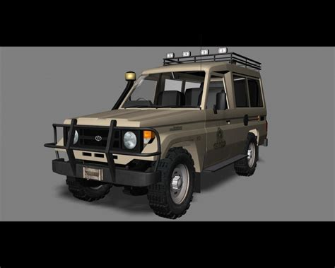 safari land cruiser 3d model toyota land cruiser 70