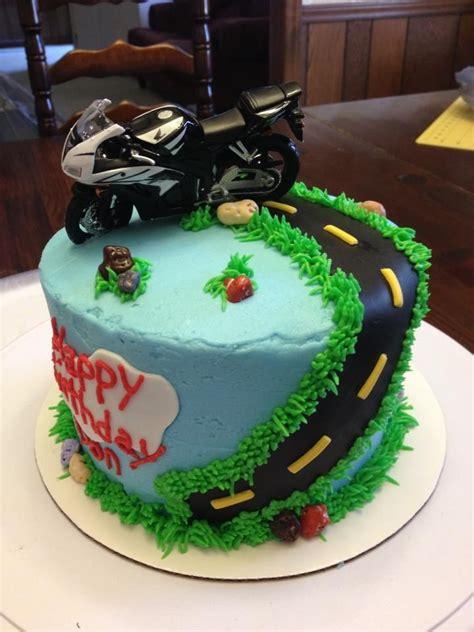 Torte Motorrad by Best 25 Motorcycle Birthday Cakes Ideas On Pinterest