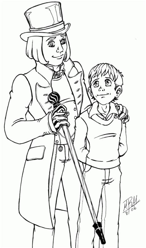 Charlie And The Chocolate Factory Coloring Pages Factory Coloring Pages