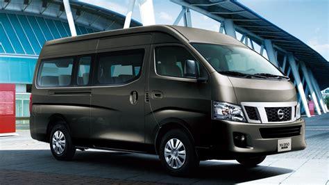 nissan minivan 2018 nissan urvan minivan and microbus nissan dubai inside 2018