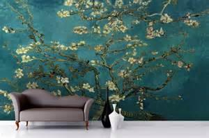 Flower Wall Murals Uk acquista all ingrosso online rotolo di mandorle da