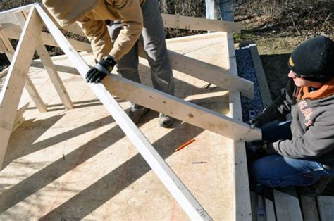 Roof Hip Joint How To Build A Shed With A Record 100 Pics And