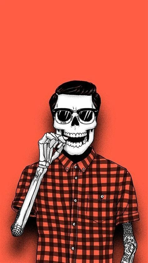 wallpaper iphone 6 hipster hipster skeleton halloween best htc one wallpapers