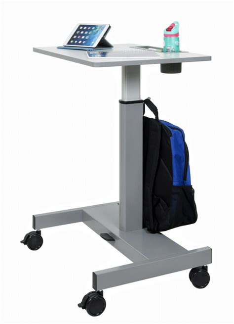 P Desk by Student Desk Pneumatic Sit Stand Desk Student P