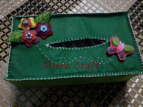 Cover Kotak Tissu miera craft tissue box cover felt