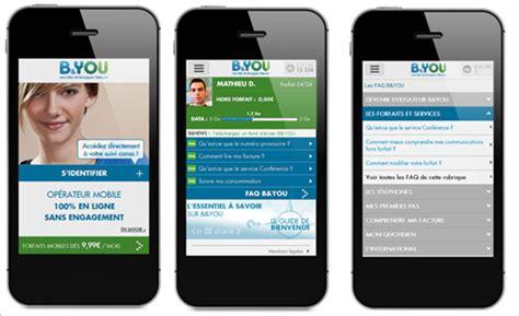 free sms mobile site b you un site mobile pour acc 233 der 224 votre suivi de