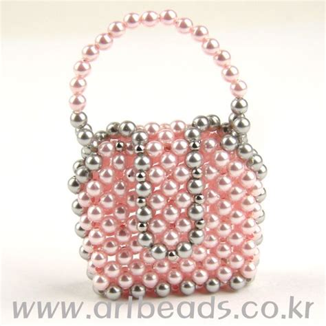 beaded mini purse pattern artbeads miniaturas con