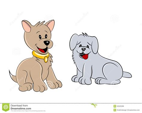 two dogs two dogs royalty free stock photos image 32520288