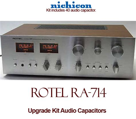 best capacitor for audio rotel ra 714 upgrade kit audio capacitors