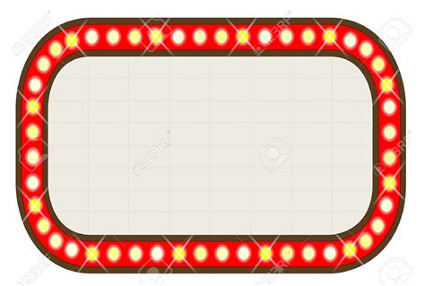 marquee lights marquee lights border clipart clipartsgram
