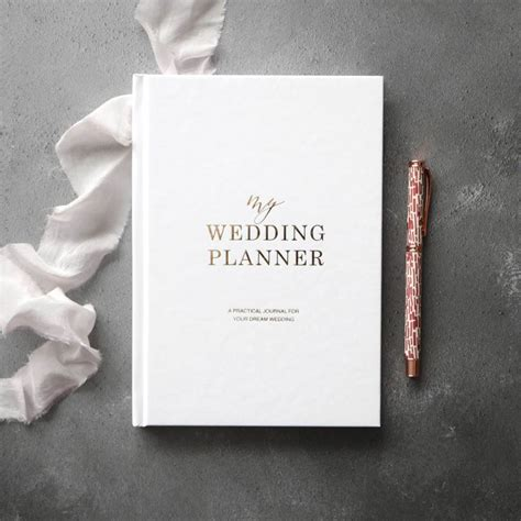 a wedding planner book luxury wedding planner book blush and gold