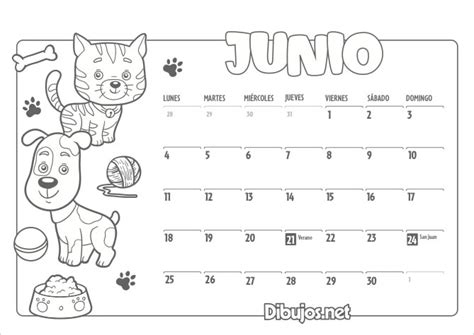 Dibujos Calendario Para Pintar Calendario Infantil 2018 Para Imprimir Y Colorear