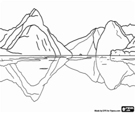 fjord character sheet fjord piopiotahi new zealand coloring page printable game