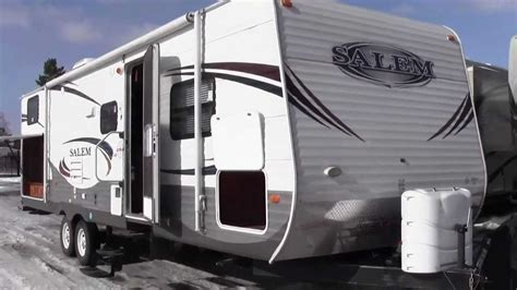 Or 2012 Trailer Jean S New 2011 Salem 30kqbss Travel Trailer Bunk House With Outside Kitchen Thanks And