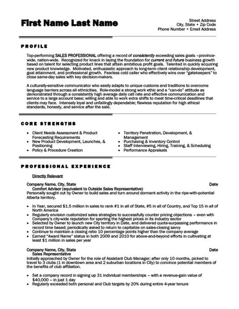 sles of business resumes sales professional resume template premium resume