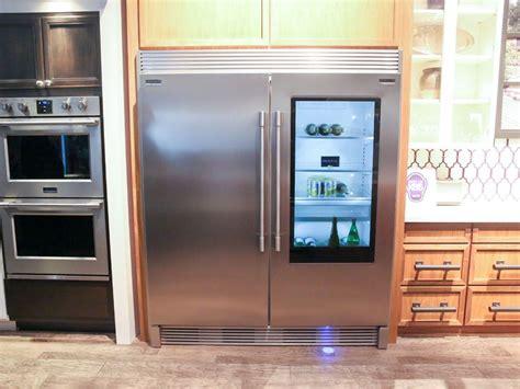 fridge freezer glass door frigidaire professional glass door refrigerator release