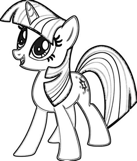 my little pony princess twilight sparkle free coloring