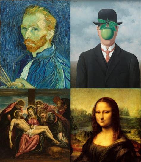 imagenes artisticas de pintores famosos 5 ejemplos de pintores famosos y algunas de sus obras