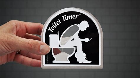 toilet timer the anatomically significant sand timer for