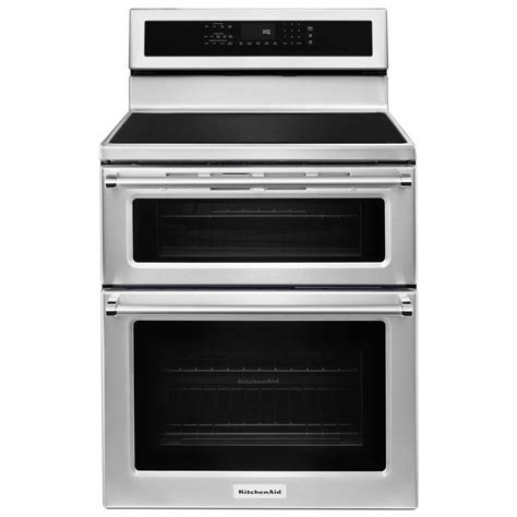 kitchenaid induction slide in range kitchenaid kfid500ess 6 7 cu ft oven induction range stainless steel shop your way