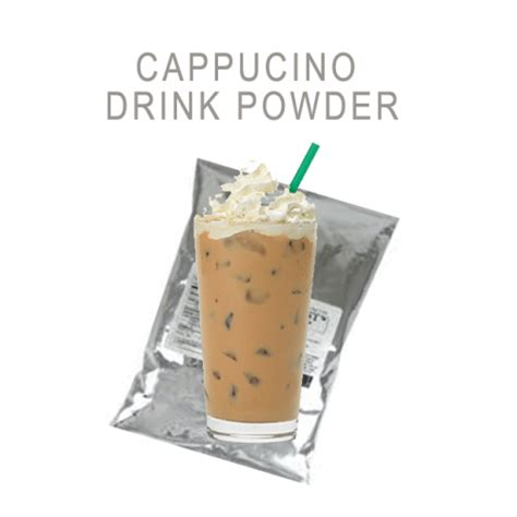 Powder Cappucino cappuccino powder 卡布奇諾粉 tapio tea company