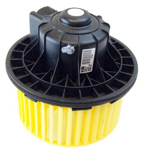fan motor for heater cadillac escalade blower motor control module location