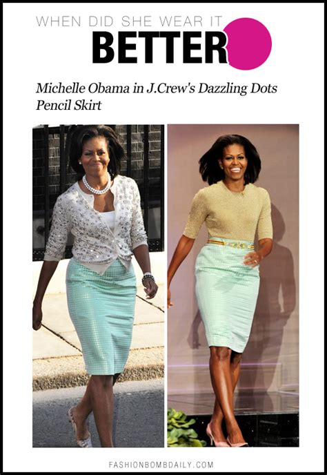 michelle obama j crew when did she wear it better first lady michelle obama in