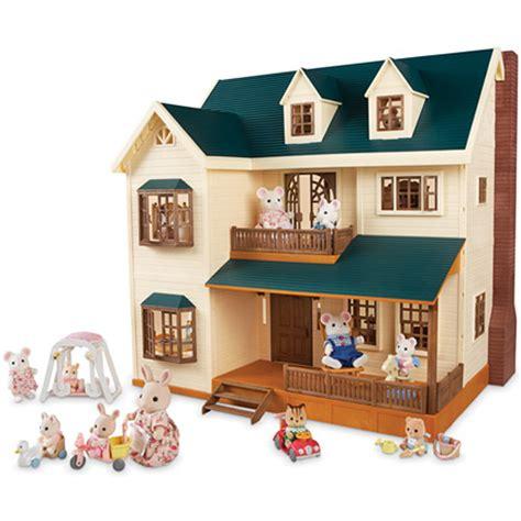 calico critters deluxe village house go bananas a jungle of fun go bananas toys