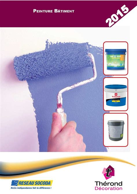 Therond Decoration by Calam 233 O Catalogue Therond Decoration Peinture Batiment