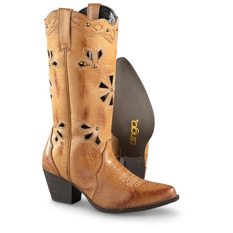 s dingo wendy boots latigo brown 643158 cowboy