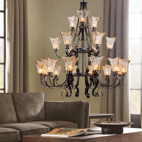 large living room chandeliers aliexpress buy traditonal3 layer luxury black chandelier luz large chandelier