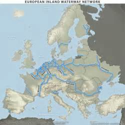 waterways map europe waterways map stratfor