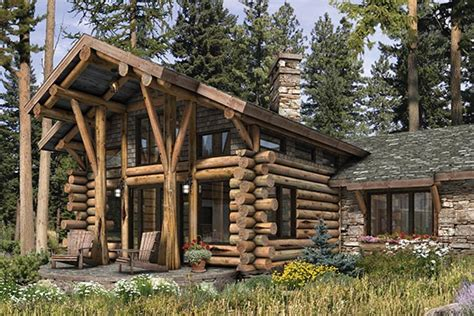 log cabin home designs and floor plans gallery photo