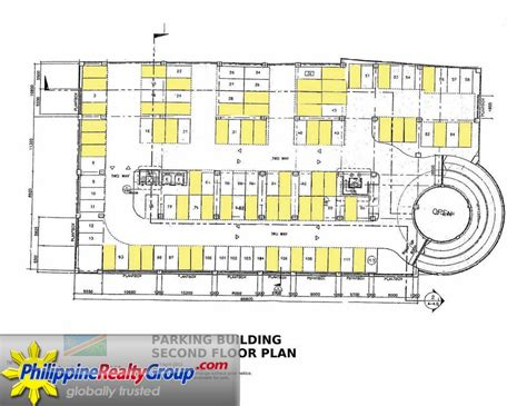 parking floor plan cambridge village cainta rizal philippine realty group