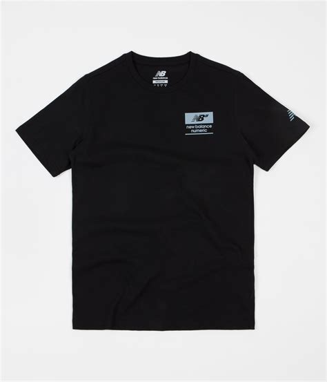 T Shirt New Balance Numeric new balance numeric stacked t shirt black flatspot