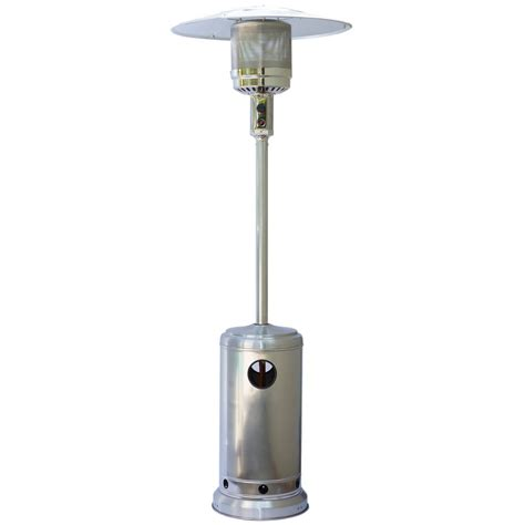 Stainless Steel Gas Patio Heater Sherpa 13kw Stainless Steel Patio Heater Heat Outdoors