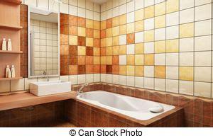 badezimmer clip und stock illustrationen 26 860 - Gekachelte Badezimmer Designs