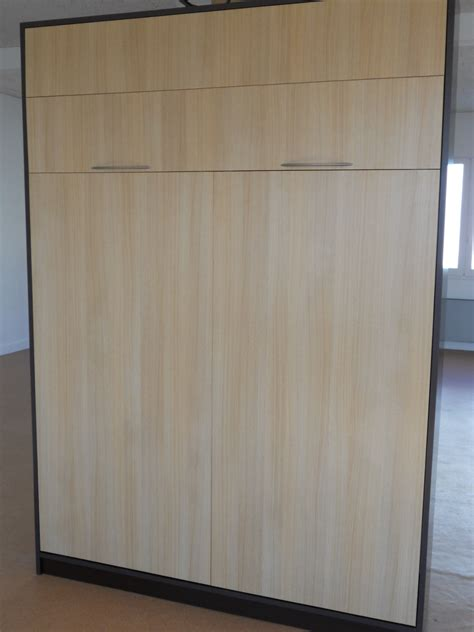 Armoire Lit Diffusion by Lit Meuble Basic Couchage 140 Cm Basic Eco Magasin