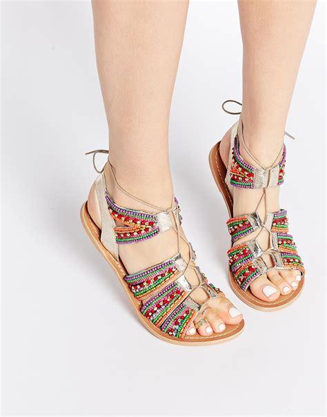 imagenes de sandalias bellas sandalias hippies mujer
