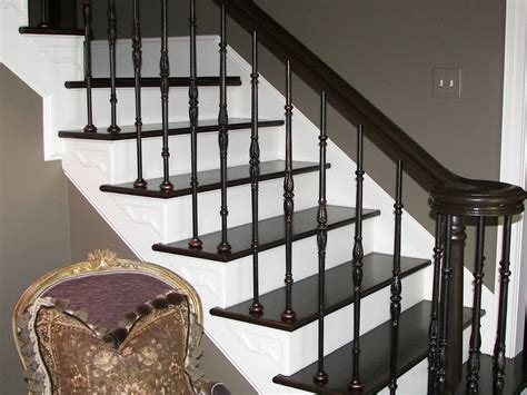 metal banisters iron balusters stair spindles staircase wood
