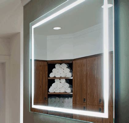 electric mirror integrity lighted mirror bliss bath