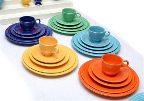 dinnerware colors vintage 174 dinnerware service for 5 in original