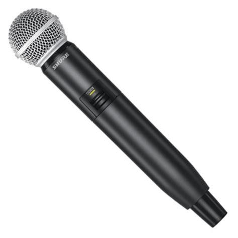 Mic Wireles Shure Gldx 24 Digital shure glxd24uk sm58 digital wireless sm58 vocal mic nearly new at gear4music