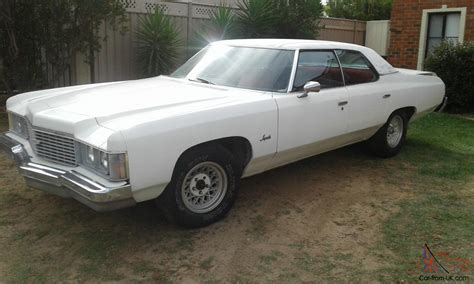 1974 chevrolet impala 350 v8 auto rhd not pontiac cadillac
