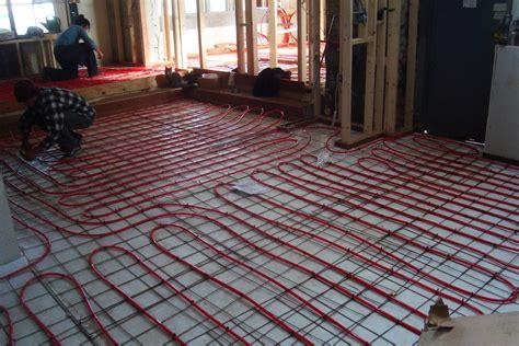 1 room radiant heat floors electric radiant floor heating the basics