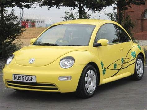 volkswagen eyelash 2005 55 vw volkswagen 1 6 beetle yellow eyelashes and