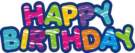 happy birthday transparent png pictures  icons  egrafis